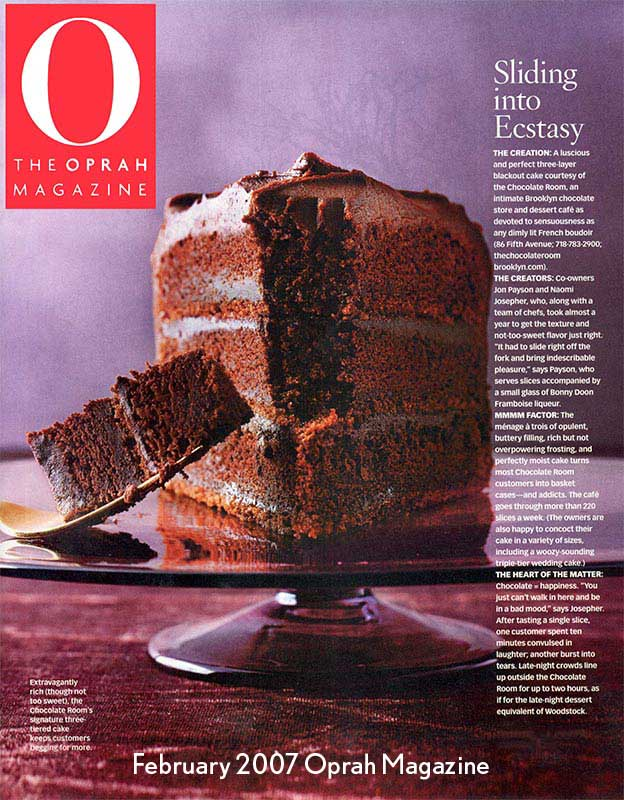 Oprah Magazine, February 2007